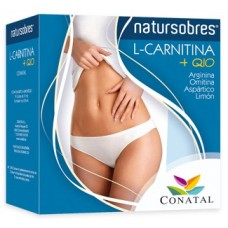 L-CARNITINA + coenzima Q10, arginina, ornitina, aspartico, limon
