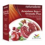 Arándano Rojo + Granada Plus 20 sobres de 15 ml. bactericida a nivel digestivo e infecciones urinarias