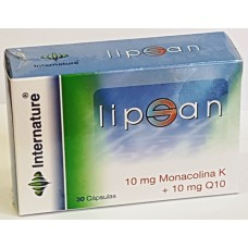 LipSan 30 capsulas de 748 mg mejora el sistema cardiovascular