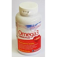 Omega3 cárdio plus 60 capsulas blandas de 1330 mg.