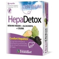 HEPADETOX 10 ampollas de 10 ml.